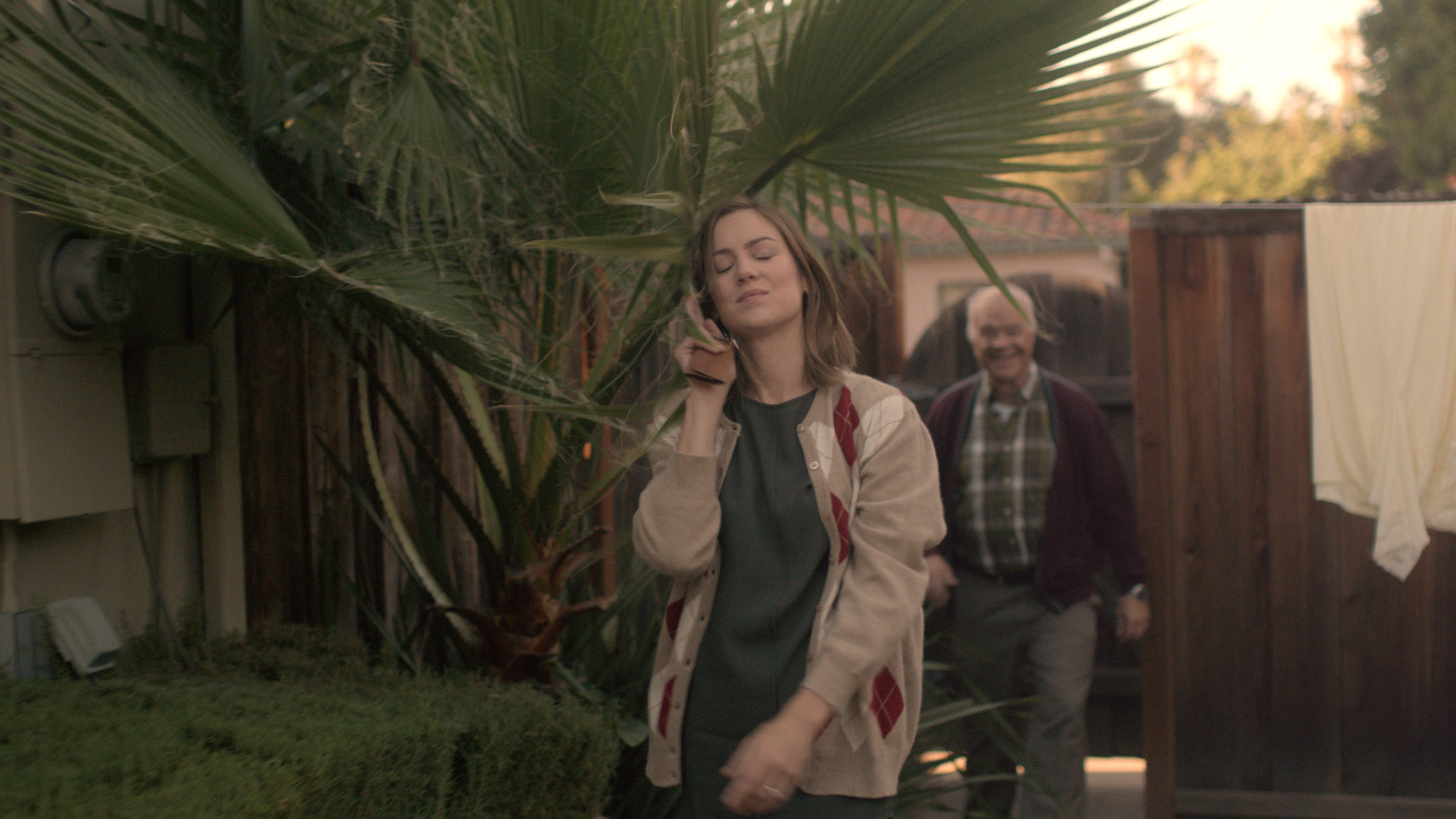 Alice & Joel arrive home. Youth, a short film coming in 2016. Starring Jessica Stroup and George Maguire, directed by Brett Marty. A sci-fi film about growing old in a world of perpetual youth.